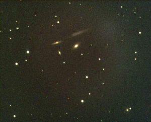 NGC 4169, NGC 4173, NGC 4174 and NGC 4175